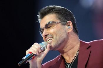 George Michael Performs At Wembley Stadium