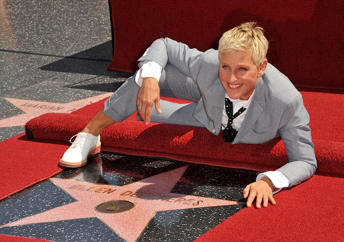 Ellen DeGeneres Star Ceremony