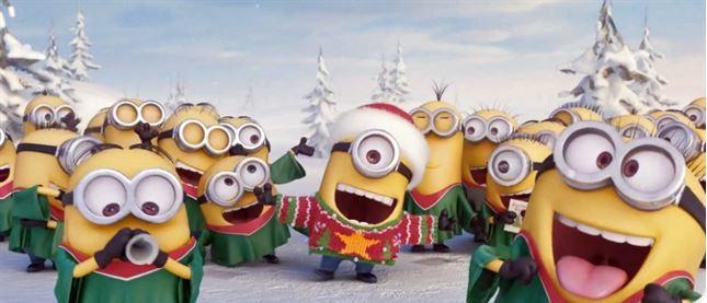 Resultado de imagen de feliz navidad minion