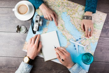 Honeymoon travel planning
