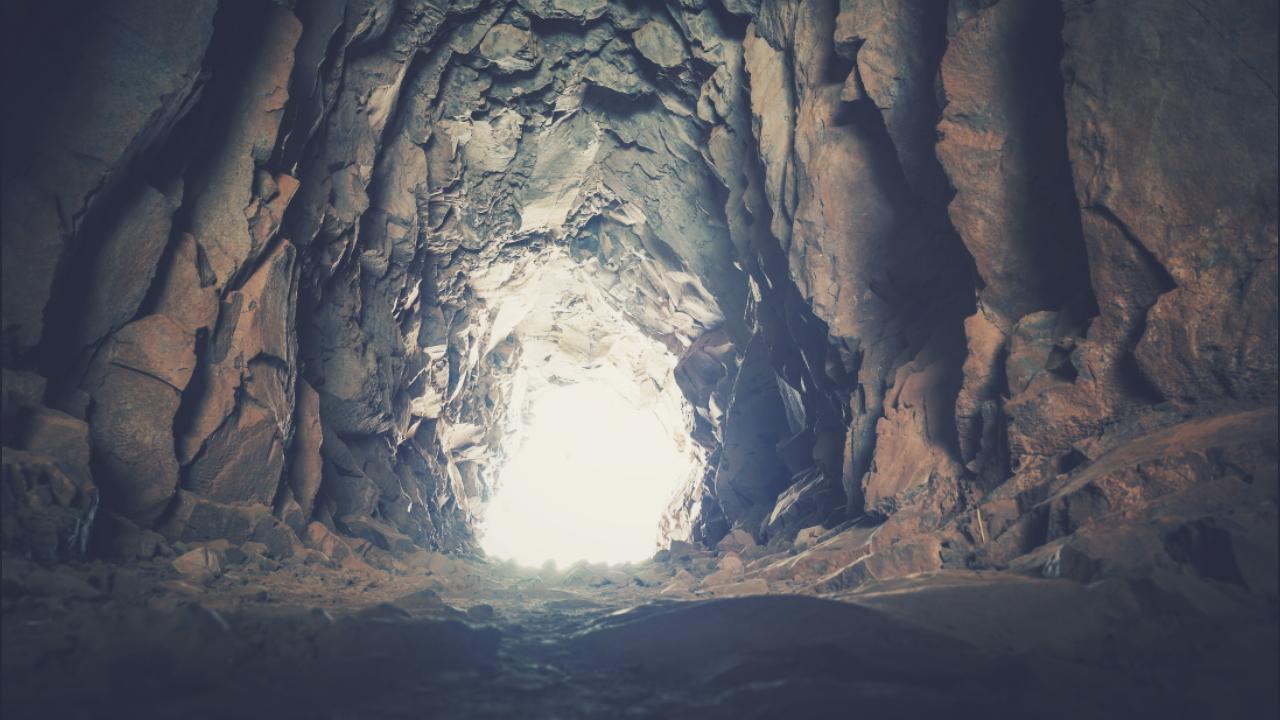 54 años viviendo en una cueva