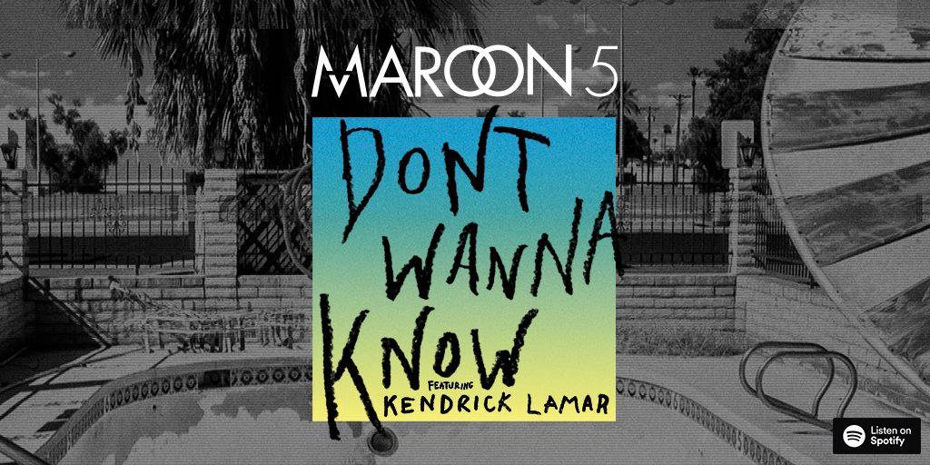maroon 5 estrena  u0026quot don u0026 39 t wanna know u0026quot