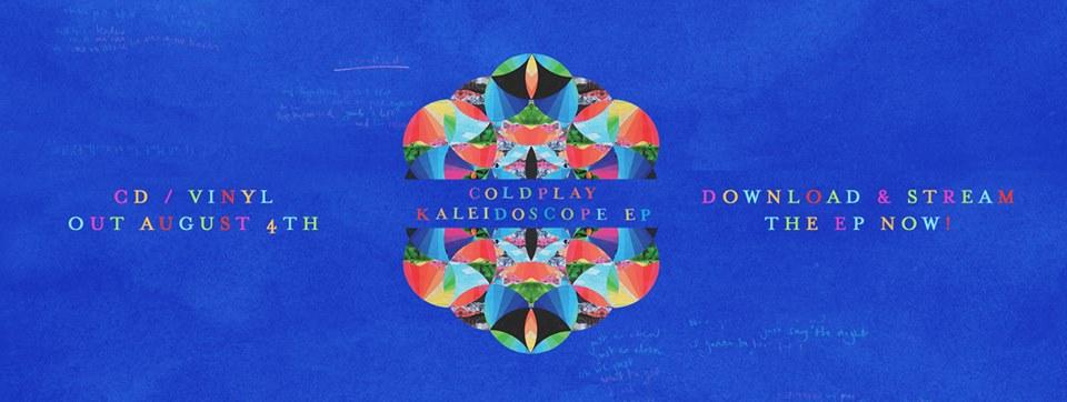 Coldplay publica 'Kaleidoscope EP'