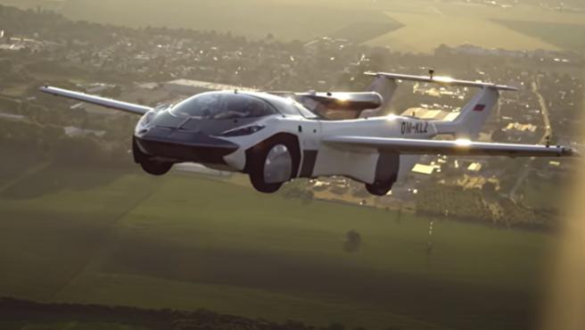 Viajar entre ciudades en coche volador ya es una realidad