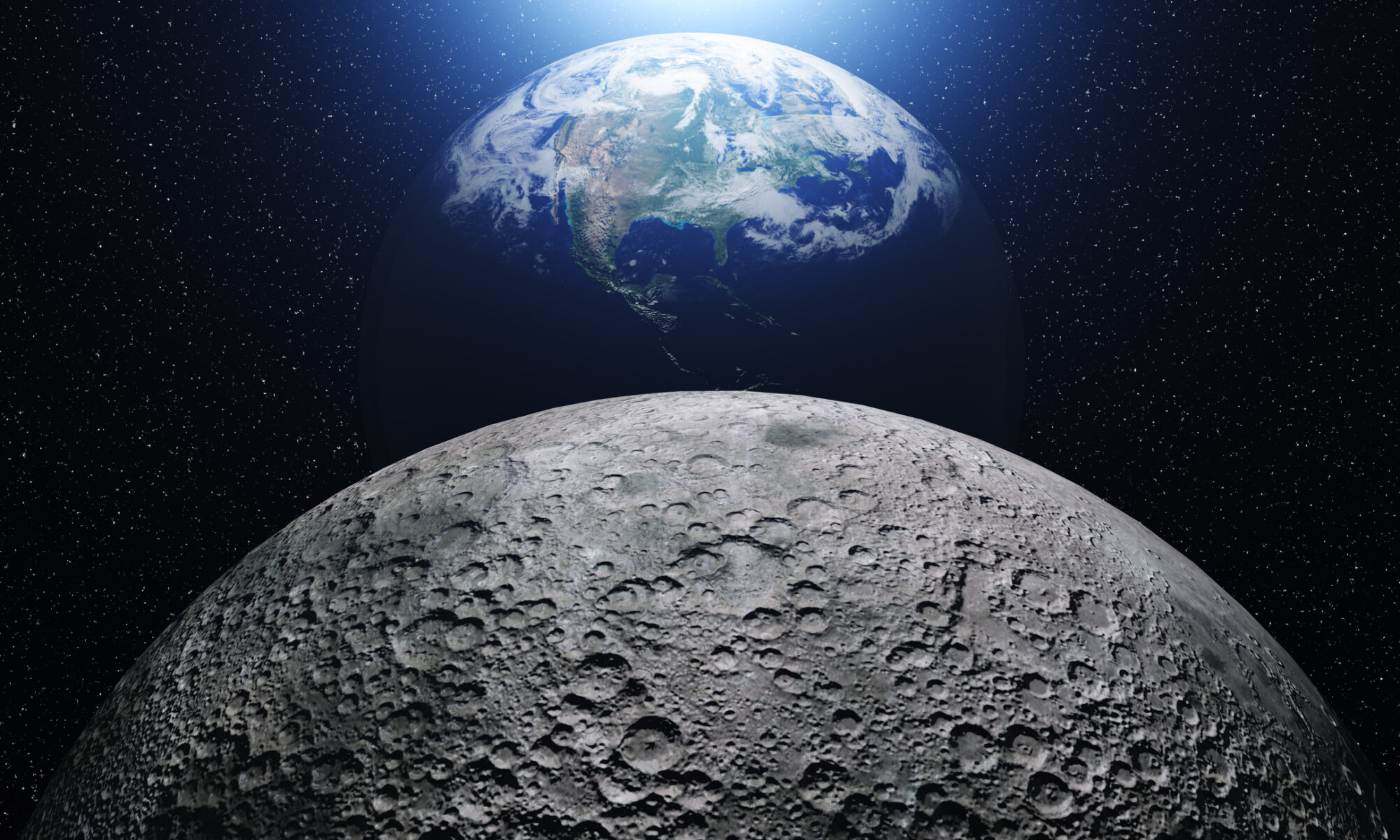 52 años del hombre en la Luna