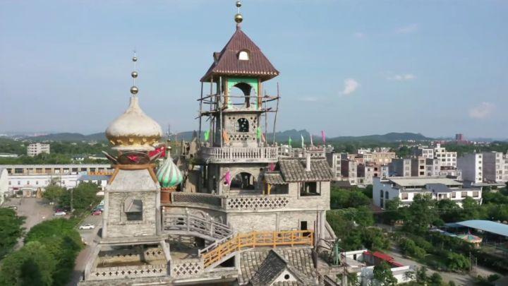Una mansión surrealista en China